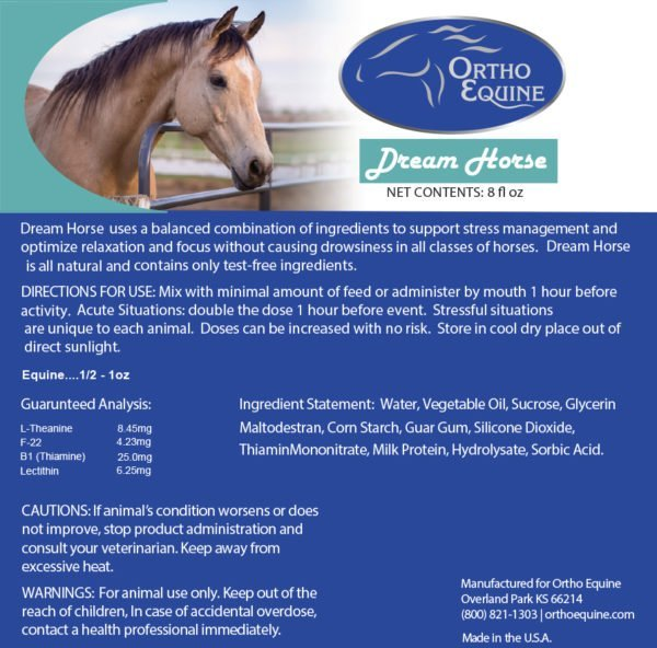 Ortho Equine Dream Horse Liquid