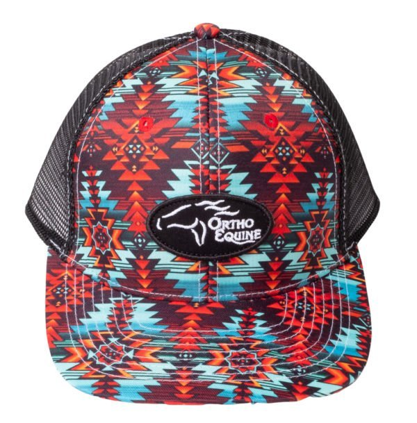 Team Ortho Equine Hat in Aztec Print