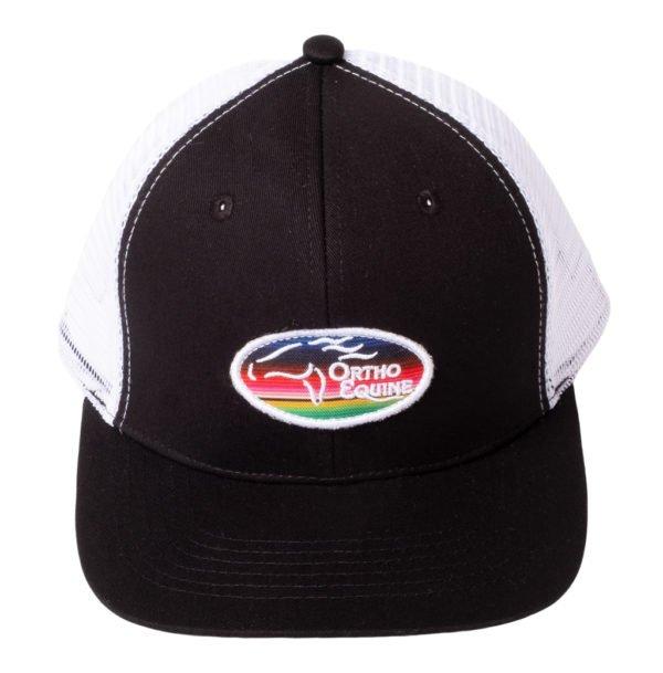 Team Ortho Equine Hat in Black/White