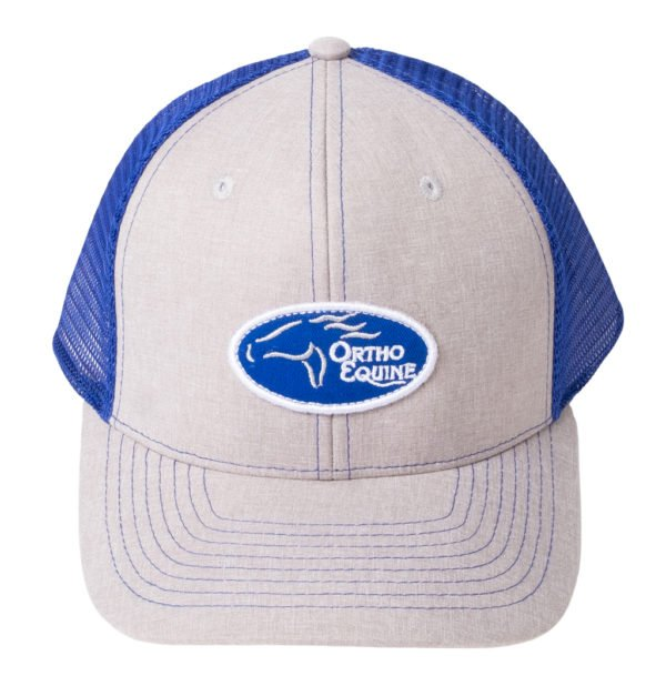 Team Ortho Equine Hat in Blue/Gray