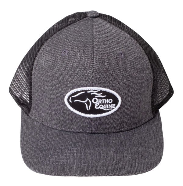 Team Ortho Equine Hat in Gray/Black