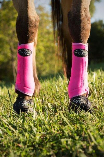 Ortho Equine Total Comfort Equine Boot in Hot Pink