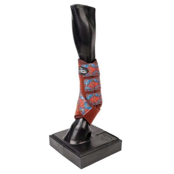 Aztec Print Ortho Equine Total Comfort Equine Boot
