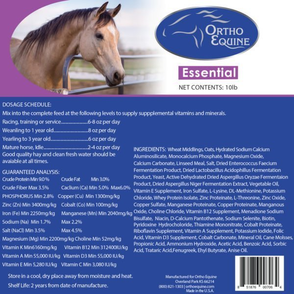 Ortho Equine Essential Daily Vitamin & Mineral Supplement