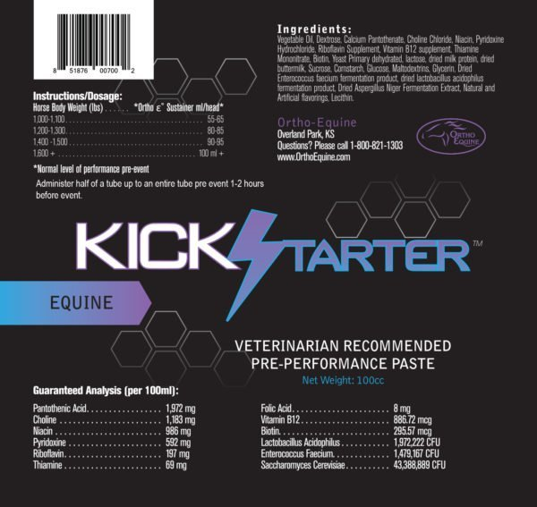 Ortho Equine Kick Starter Paste