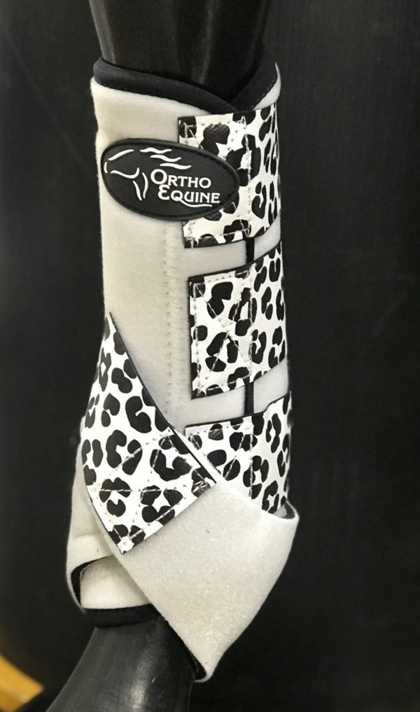 Leopard Print Ortho Equine Total Comfort Equine Boot