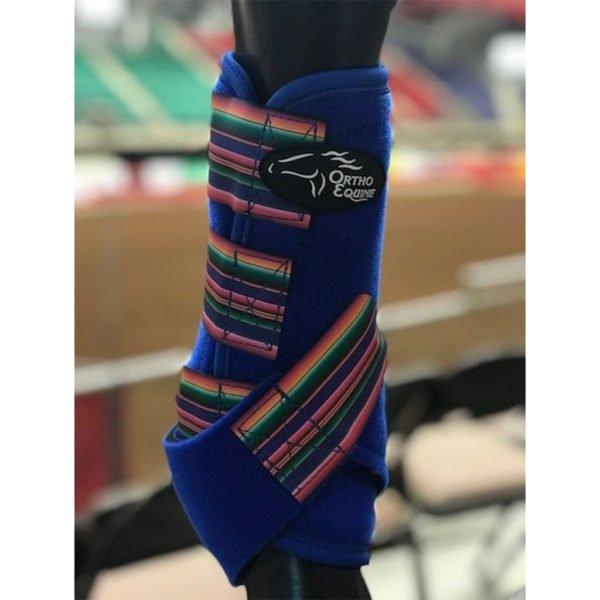 Serape Print Ortho Equine Total Comfort Equine Boot