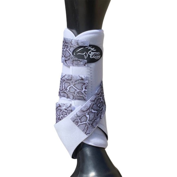 Snakeskin Print Ortho Equine Total Comfort Equine Boot