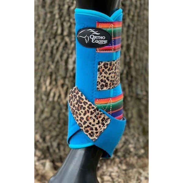 Wild One Print Ortho Equine Total Comfort Equine Boot